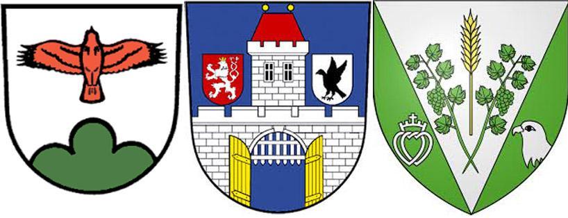 Стервятник на гербах  Герштеттен,  Железный Брот  и Гран'Ланд