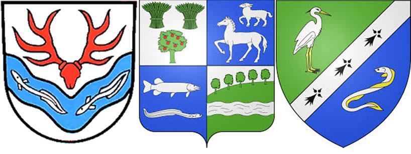 Угорьна гербах Хюттлинген, Кани-Барвиль иГленак