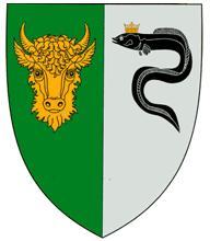 угорь-герб села Кишкарены Молдова