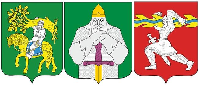 великаны-гербы Чувашии