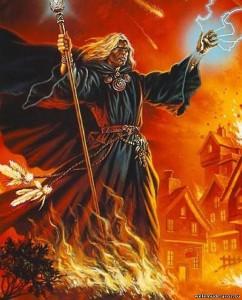 заклинания огня