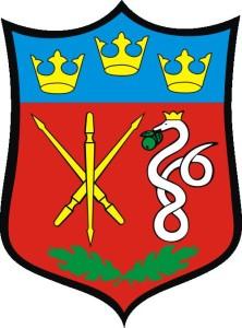 Уж на гербе сельской гмины Длутув (Пабяницкий повят, Польша)
