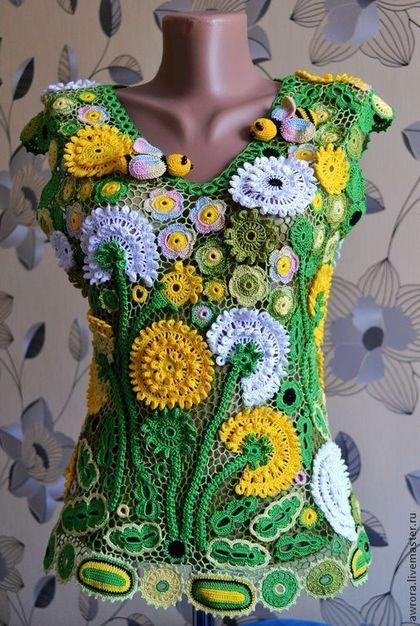 вязание-одуванчики