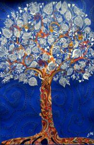 дерево царств -серебряное Худ.Гвенитадзе Меги