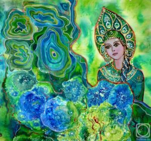 камни бажова-Рисунок Елены Рипа