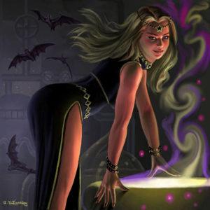 -темная магия-