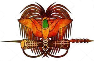 райская птица-папуа новая гвинея