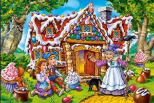 1-пряничный домик