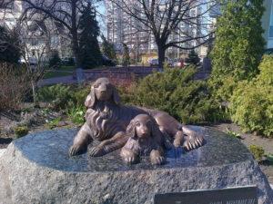 -собака-памятник-ретриверы - киев
