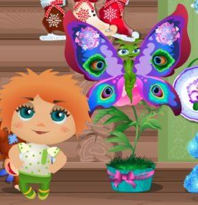 1-бабочек-дерево -домовята