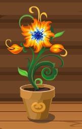 -очага цветок-домовята