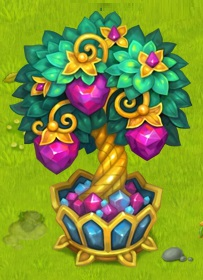 -аметистовое дерево-Домовята
