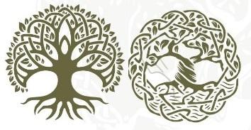 2-символы леса в