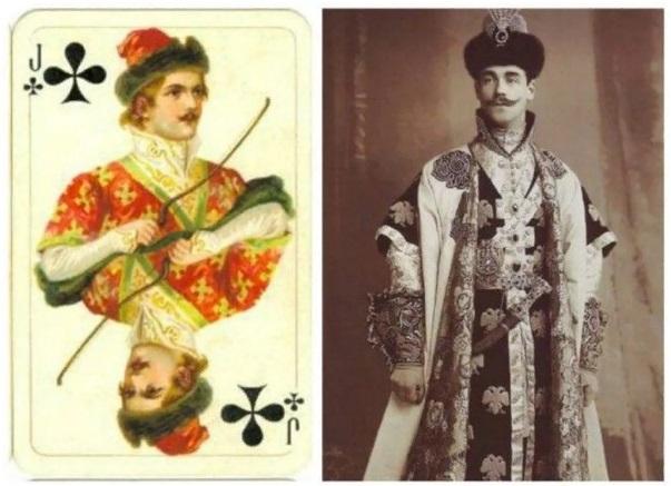 1-карты-Русское золото - ТРЕФОВЫЙ валет